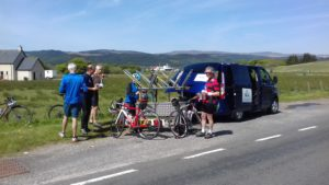 Lunch stop at Kennacraig