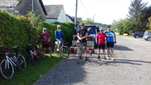 Ready to set off from Lochgilphead