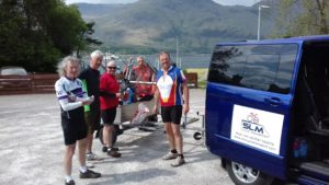 Lunch stop at Corran Ferry