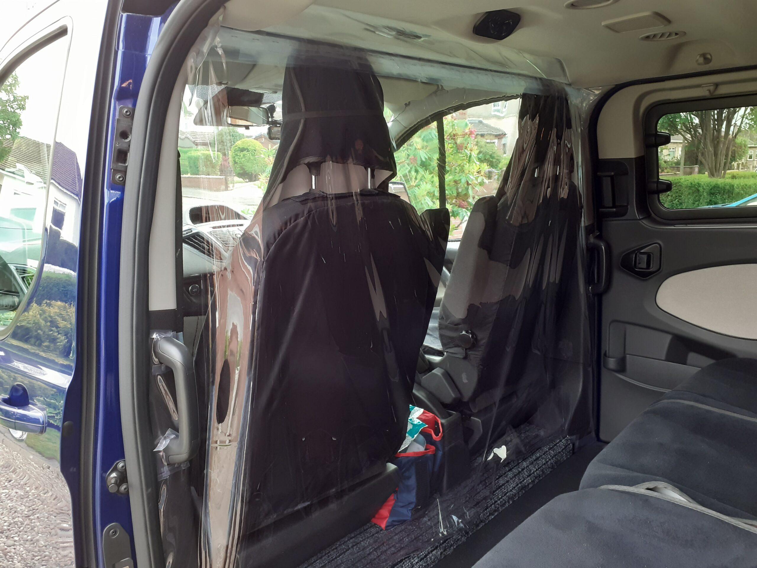 SLMCT Minibus PVC Screen